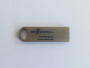 Superb1A Design - Work Samples - 2015 - USB-Stick - Fahrdynamic Automobile AG
