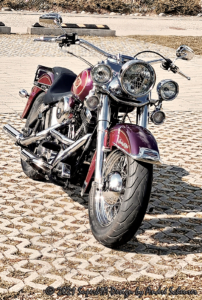 Artworks - Bikes - 'Roxy' 25 Years 'on the road'